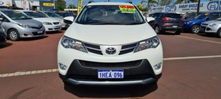 2014 Toyota RAV4 ZSA42R MY14 GXL 2WD Pearl White 7 Speed Constant Variable Wagon.