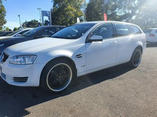 2013 Holden Commodore VE II MY12.5 Omega Sportwagon White 6 Speed Sports Automatic Wagon.