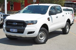 2015 Ford Ranger PX MkII XL White 6 Speed Manual Utility.