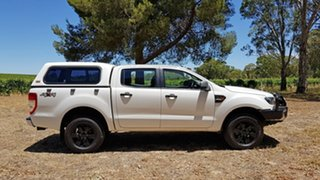 2015 Ford Ranger PX XLS Double Cab Cool White 6 Speed Manual Utility
