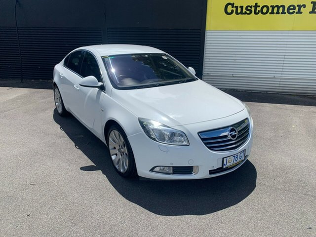 Used Opel Insignia IN Select Launceston, 2012 Opel Insignia IN Select White 6 Speed Sports Automatic Sedan