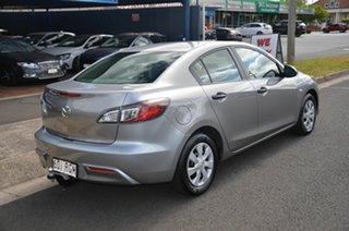 2010 Mazda 3 BL 10 Upgrade Maxx Silver 5 Speed Automatic Sedan.