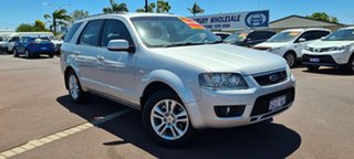 2009 Ford Territory SY MkII TS Silver 4 Speed Sports Automatic Wagon.