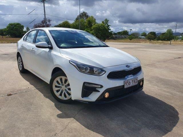 Used Kia Cerato BD MY19 S Townsville, 2018 Kia Cerato BD MY19 S White 6 Speed Sports Automatic Sedan