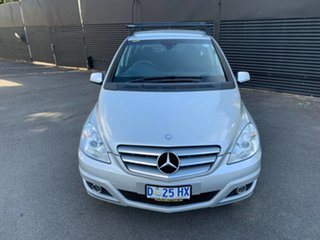 2008 Mercedes-Benz B-Class W245 MY08 B180 CDI Silver 7 Speed Constant Variable Hatchback.