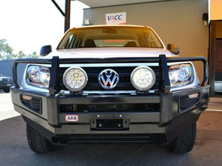 2016 Volkswagen Amarok 2H MY17 TDI420 4MOTION Perm Core White 8 Speed Automatic Utility