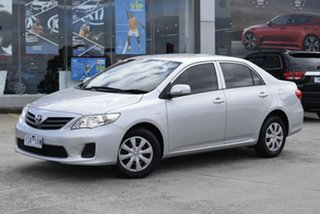 2010 Toyota Corolla ZRE152R Ascent Billet Silver 6 Speed Manual Sedan.