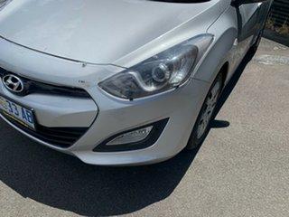 2013 Hyundai i30 GD Active Sleek Silver 6 Speed Sports Automatic Hatchback