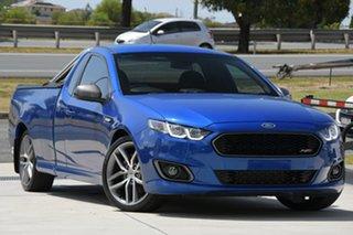 2016 Ford Falcon FG X XR6 Ute Super Cab Turbo Blue 6 Speed Manual Utility.