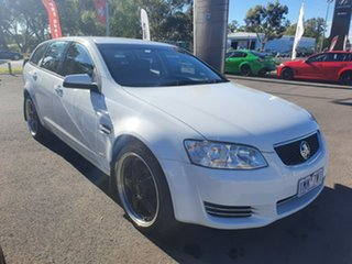 2013 Holden Commodore VE II MY12.5 Omega Sportwagon White 6 Speed Sports Automatic Wagon