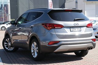 2016 Hyundai Santa Fe DM3 MY17 Elite Grey 6 Speed Sports Automatic SUV.