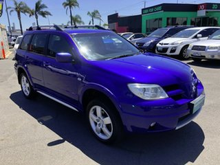 2006 Mitsubishi Outlander ZF MY06 VR Blue 4 Speed Auto Sports Mode Wagon.