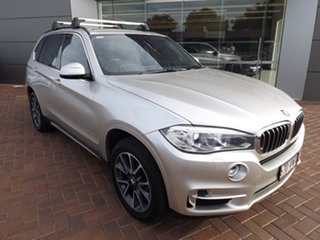 2015 BMW X5 F15 xDrive30d Silver 8 Speed Sports Automatic Wagon.