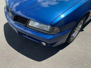 2002 Mitsubishi Magna TJ MY02 Executive Blue 4 Speed Automatic Sedan.