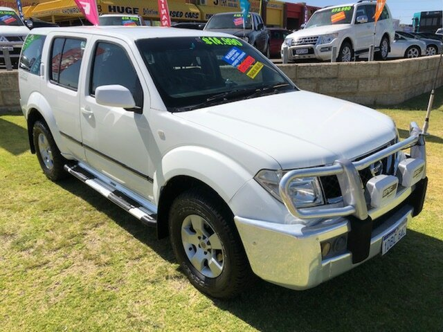 Used Nissan Pathfinder R51 ST Wangara, 2006 Nissan Pathfinder R51 ST White 6 Speed Manual Wagon