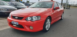 2005 Ford Falcon BF XR6 Red 4 Speed Sports Automatic Sedan.