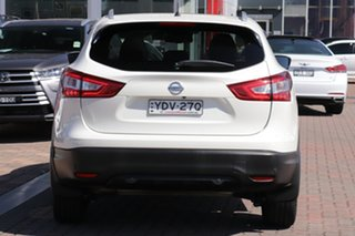2016 Nissan Qashqai J11 TI White 1 Speed Constant Variable SUV