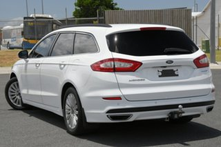 2016 Ford Mondeo MD Trend TDCi White 6 Speed Automatic Wagon.