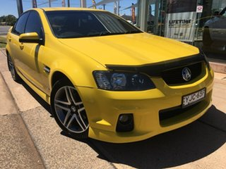 2010 Holden Commodore VE Series II SV6 Yellow Sports Automatic.