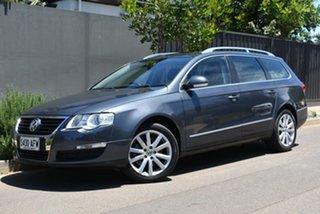 2010 Volkswagen Passat Type 3C MY10.5 118TSI DSG Grey 7 Speed Sports Automatic Dual Clutch Wagon.