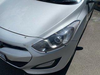 2013 Hyundai i30 GD Active Sleek Silver 6 Speed Sports Automatic Hatchback.