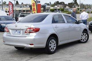 2010 Toyota Corolla ZRE152R Ascent Billet Silver 6 Speed Manual Sedan