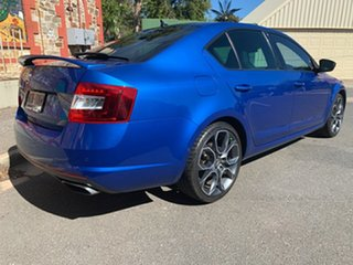 2016 Skoda Octavia NE MY17 RS Sedan DSG 162TSI Blue 6 Speed Sports Automatic Dual Clutch Liftback.