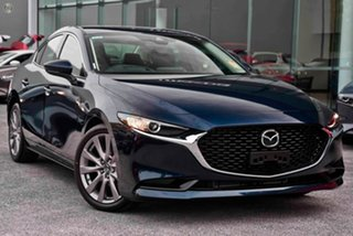 2020 Mazda 3 BP2S7A G20 SKYACTIV-Drive Touring Blue 6 Speed Sports Automatic Sedan.