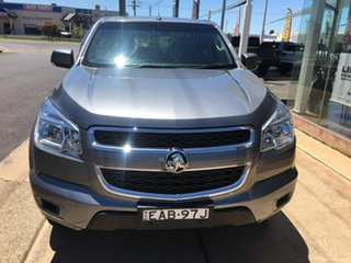 2015 Holden Colorado RG LS Grey Sports Automatic.