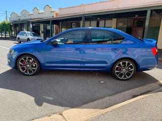 2016 Skoda Octavia NE MY17 RS Sedan DSG 162TSI Blue 6 Speed Sports Automatic Dual Clutch Liftback