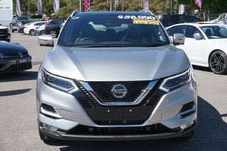 2019 Nissan Qashqai J11 Series 3 MY20 Ti X-tronic Silver 1 Speed Constant Variable Wagon.