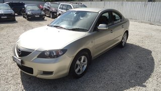 2007 Mazda 3 BK10F2 Maxx Silver 4 Speed Sports Automatic Sedan