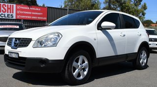 2008 Nissan Dualis J10 ST X-tronic AWD White 6 Speed Constant Variable Hatchback