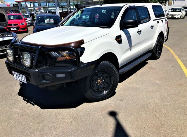 Used Ford Ranger PX MkII XL Seaford, 2015 Ford Ranger PX MkII XL White 6 Speed Sports Automatic Utility