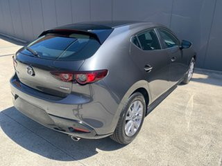 2020 Mazda 3 BP2H7A G20 SKYACTIV-Drive Pure Machine Grey 6 Speed Sports Automatic Hatchback