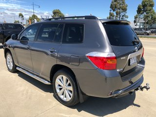 2010 Toyota Kluger GSU45R Altitude AWD Graphite 5 Speed Sports Automatic Wagon