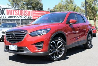 2016 Mazda CX-5 KE1022 Akera SKYACTIV-Drive AWD Red/Black 6 Speed Sports Automatic Wagon