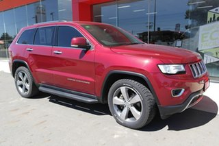 2014 Jeep Grand Cherokee WK MY15 Limited Red 8 Speed Sports Automatic Wagon.