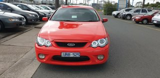 2005 Ford Falcon BF XR6 Red 4 Speed Sports Automatic Sedan