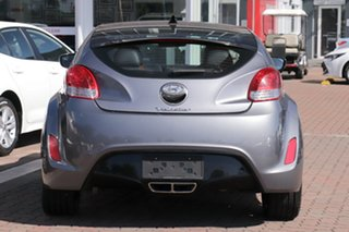 2015 Hyundai Veloster FS4 Series II + Coupe D-CT Gunmetal 6 Speed Sports Automatic Dual Clutch