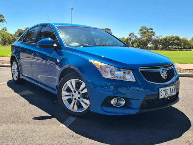 Used Holden Cruze JH Series II MY13 SRi Nailsworth, 2013 Holden Cruze JH Series II MY13 SRi Blue 6 Speed Sports Automatic Sedan