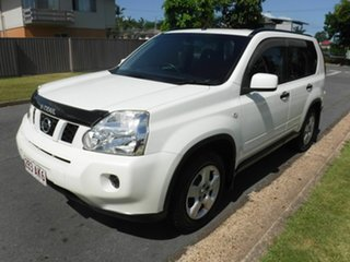 2010 Nissan X-Trail T31 ST White 1 Speed Automatic Wagon