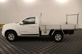 2014 Holden Colorado RG MY15 LS (4x4) White 6 speed Automatic Cab Chassis