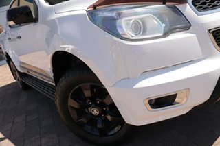 2016 Holden Colorado RG MY16 Z71 Crew Cab White 6 Speed Manual Utility.