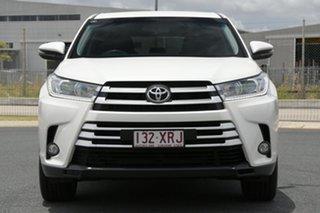 2017 Toyota Kluger GSU55R GX (4x4) White 6 Speed Automatic Wagon