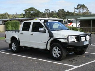 2005 Holden RA RODEO RA LT Alpine White Manual CREWCAB UTILITY.