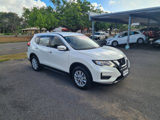 2018 Nissan X-Trail T32 Series 2 ST Ivory Pearl 7 Speed Automatic Wagon.