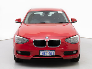 2014 BMW 118d F20 MY14 Red 6 Speed Manual Hatchback.