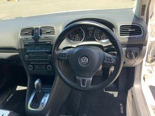 2012 Volkswagen Golf VI MY12.5 103TDI DSG Comfortline White 6 Speed Sports Automatic Dual Clutch