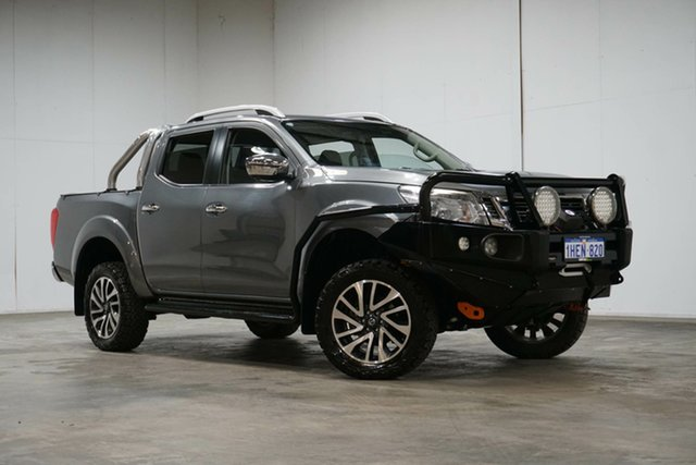 Used Nissan Navara D23 S3 ST-X Welshpool, 2018 Nissan Navara D23 S3 ST-X Grey 7 Speed Sports Automatic Utility